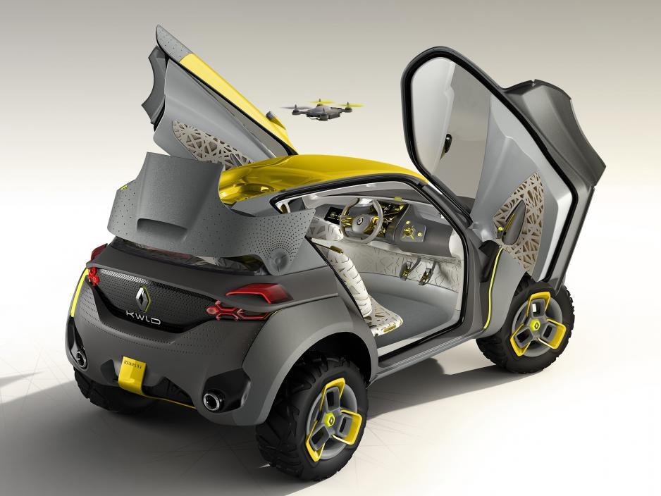 Auto Expo 2014: Renault Unveils Concept Car KWID