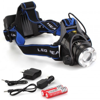 Need Hands Free and Longer Battery Life For Adventuring? Use LED Headlights